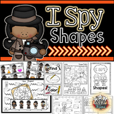 2D Shapes {Write the Room Shapes, Student Reader, Shape Games}