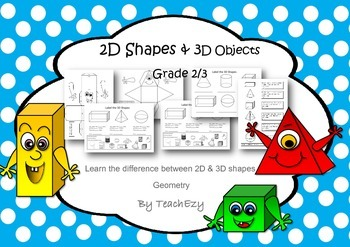 2D Shapes and 3D Objects
