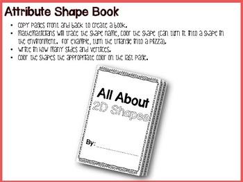 2D Shapes and Environmental Shapes