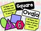 2D Shapes and Labels (English and Spanish)