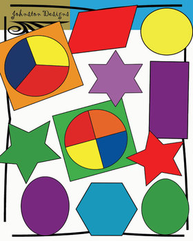 2D Shapes and Spinners