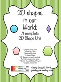 MATH: 2D Shapes in Our World- A COMPLETE Study of 2D Shapes