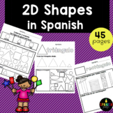 2D Shapes in Spanish (Figuras geométricas - formas)