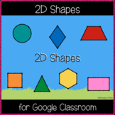 2D Shapes with Real Objects (clipart) (Great for Google Cl
