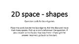 2D Space question cards