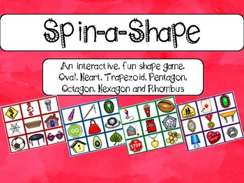 2D Shape Game: Everyday Objects (Shape Center)