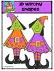 2D Witchy Shapes {P4 Clips Trioriginals Digital Clip Art}