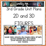 3rd Grade Lesson Plans 2D and 3D Figures  3.6A 3.6B 3.6E