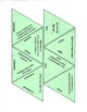 2D and 3D Figures Triangle Puzzle with Worksheet