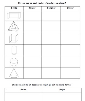 2D and 3D Forms Quizes