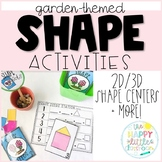 2D and 3D Garden-Themed Shape Centers and more!