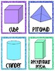 2D and 3D Glitter Shape cards