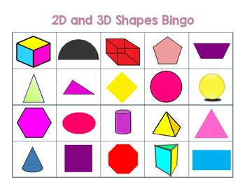 2D and 3D Shape