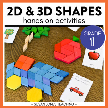 2d and 3d shape activities by susan jones teachers pay teachers. Black Bedroom Furniture Sets. Home Design Ideas