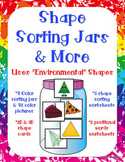 2D and 3D Shape Activities