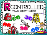 R Controlled Vowel Clipart Bundle by Teacher Laura