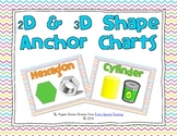 2D and 3D Shape Anchor Charts