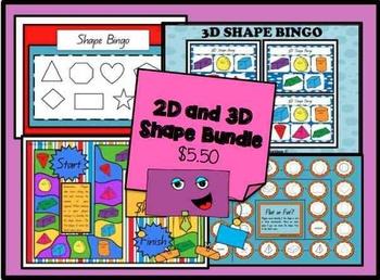 2D and 3D Shape *BUNDLE*