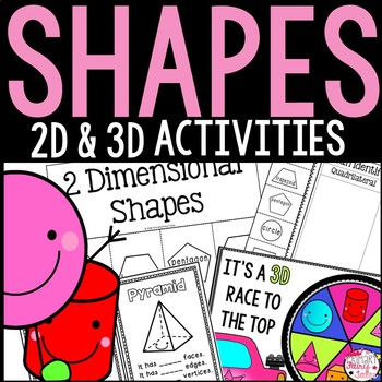 2D and 3D Shape Games & Activities