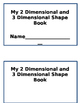 2D and 3D Shape Book