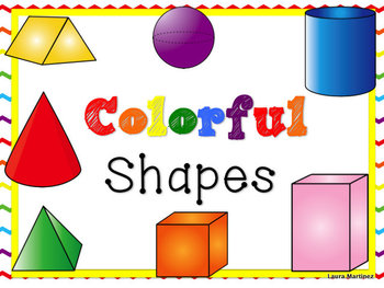 2D and 3D Shape Clipart