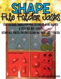 2D and 3D Shape File Folder Tasks #spedtreats1