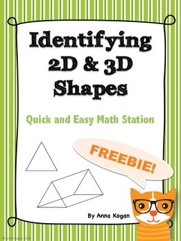 2D and 3D Shape Hands-On Activity