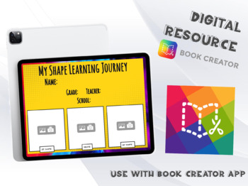 2D and 3D Shape Learning Journey - Book Creator Project