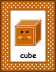 2D and 3D Shape Posters #2 - Kindergarten
