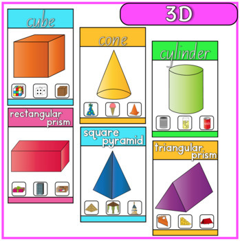 2D and 3D Shape Posters