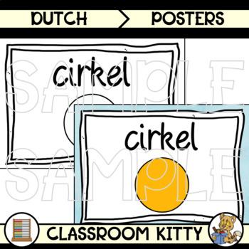 2D and 3D Shape Posters : Dutch : BUNDLE