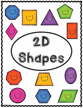 2D and 3D Shape Posters- Geometry
