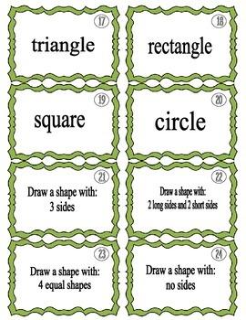 2D and 3D Shape Shuffle