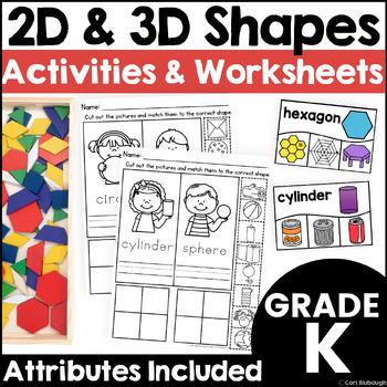2D and 3D Shape Sorts