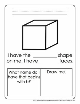 2D and 3D Shapes Worksheets