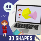 3D Shapes - Interactive Math Lesson and Activities for Sec
