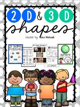 2D and 3D Shapes BUNDLE