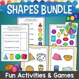 2D Shapes and 3D Shapes Bundle