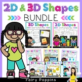 2D & 3D Shapes Bundle (Games, Worksheets, Posters)