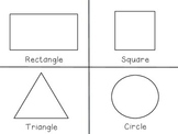 2D and 3D Shapes Cards