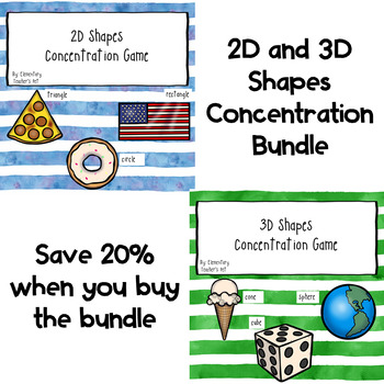 2D and 3D Shapes Concentration