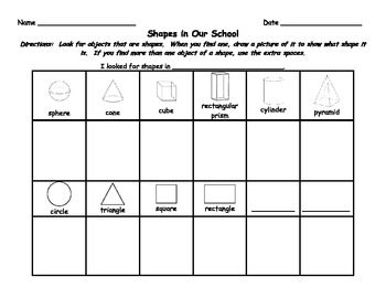 2d and 3d shapes differentiated lesson plan tiered activities tpt. Black Bedroom Furniture Sets. Home Design Ideas