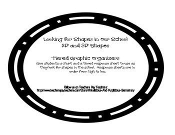 2D and 3D Shapes Differentiated Lesson Plan Tiered Activities