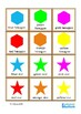 2D & 3D Shapes Flash Cards, Autism & Special Education Math Vocabulary