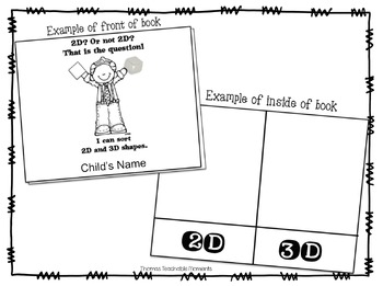 2D and 3D Shapes - Identify and Sort