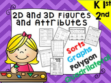 2D and 3D Shapes, Identify and Sort by Attribute, Polygons and Quadrilaterals