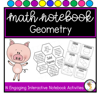 2D and 3D Shapes Interactive Notebook Unit