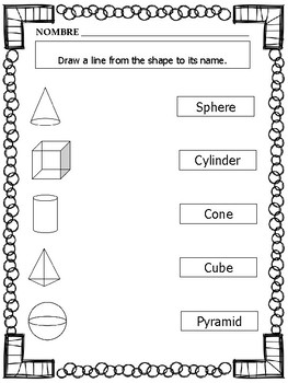 2D and 3D Shapes Matching