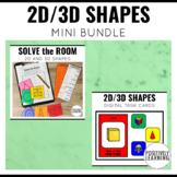 2D and 3D Shapes Mini Bundle