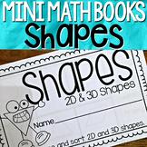 2D and 3D Shapes { Mini Math Book }